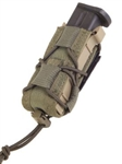 HSGI BELT MOUNTED PISTOL TACO, OD GREEN