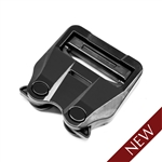 ITW GT COBRA BUCKLE FIXED 2.0IN, FEMALE, BLACK