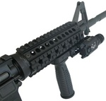 QUAD-RAIL HANDGUARDS FOR AR-15