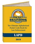 Pocket Brainbook LAPD Edition, 2019