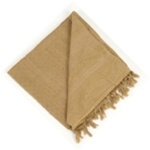 SHEMAGH (TRADITIONAL DESERT HEADWEAR) SOLID SAND