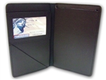 Perfect Fit Over sized Ticket Book Holder Fits 4in x 8in Book, Black