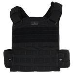 "Protech Tactical Plate Carrier, Black, Large (Up to 50"" torso)"