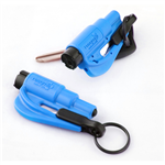 Resqme Window Breaker / Seat Belt Cutter, Blue