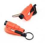 Resqme Window Breaker / Seat Belt Cutter, Orange