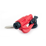 Resqme Window Breaker / Seat Belt Cutter, Red