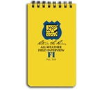 RITE IN THE RAIN ALL WEATHER FIELD INTERVIEW NOTEBOOK
