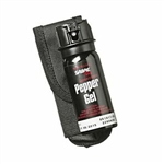 Sabre Pepper Spray Flip Top, 1.8oz, Red Pepper & UV Dye, Black
