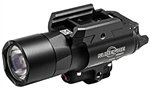 SUREFIRE™ X400 ULTRA WEAPONLIGHT WITH GREEN LASER, BLACK, 600 LUMENS