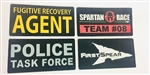 TPS Custom Patch Package, 3in X 6in (x6) Add-on Quantity
