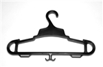 TPS HEAVY-DUTY GEAR HANGER, BLACK, 3PACK