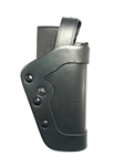 UNCLE MIKE'S PRO-3 DUTY HOLSTER, LEVEL 3, SIZE 20, PLAIN LEATHER, RH
