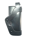 UNCLE MIKES PRO-2 DUTY HOLSTER, LEVEL 2, SIZE 25, PLAIN LEATHER, RH