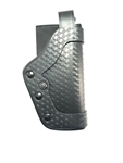 UNCLE MIKES PRO-2 DUTY HOLSTER, LEVEL 2, SIZE 25, BASKETWEAVE, RH