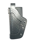 UNCLE MIKES PRO-2 DUTY HOLSTER, LEVEL 2, SIZE 25, BASKETWEAVE, LH