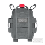 Vanquest FATPack 4X6: First Aid Trauma pack 2.0 , Wolf Grey