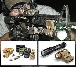 Viking Tactics VTAC-MK4 Light Mount, FLAT DARK EARTH - GEN 2