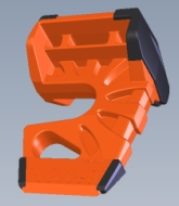 WEDGE-IT Door Wedge - ORANGE