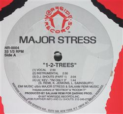 Major Stress 1-2 Trees / Sippin Yo Mo