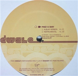 Dwele Find A Way