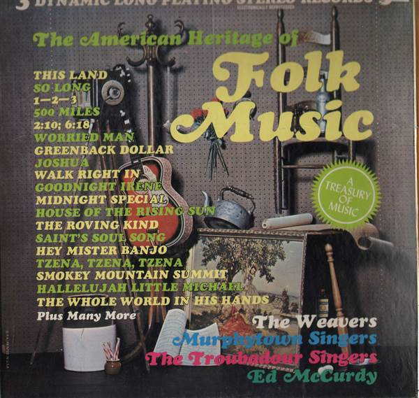 Various - The American Heritage Of Folk Music 3XLP