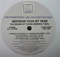 Various Motown Year By Year - The Sound Of Young America 1960's
