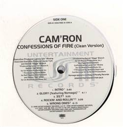 Cam'ron Confessions Of Fire (Clean Version)