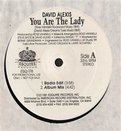 David Alexis You Are The Lady