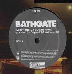 Bathgate Everything's A Go (The Flow)