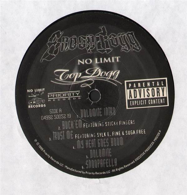 Snoop Dogg - No Limit Top Dogg (Disc 1 Only) LP