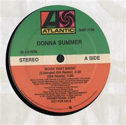 Donna Summer Work That Magic
