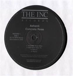Ashanti Concrete Rose (Disc 1 Only)