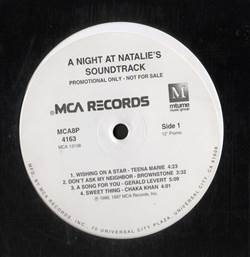 Various New York Undercover (A Night At Natalie's) (Promo Album)