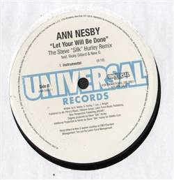 Ann Nesby Let Your Will Be Done (Remix)