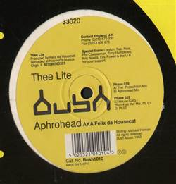 Aphrohead AKA Felix Da Housecat In The Dark We Live (Thee Lite)