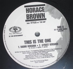 Horace Brown This Is The One