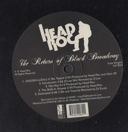 Head-Roc The Return Of Black Broadway