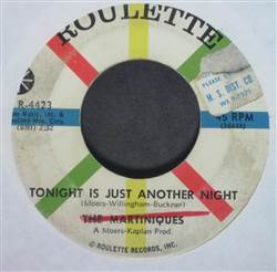 Martiniques Tonight Is Just Another Night / Unknown Love