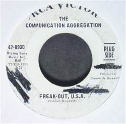 Communication Aggregation Freak-Out, U.S.A. / Off The Wall