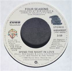 Four Seasons Spend The Night In Love