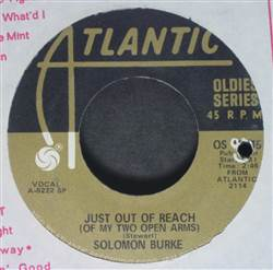 Solomon Burke / Esther Phillips Just Out Of Reach (Of My Two Open Arms) / Release Me