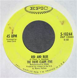 Dave Clark Five Red And Blue / Concentration Baby