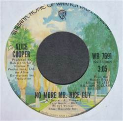 Alice Cooper No More Mr. Nice Guy / Raped And Freezin'