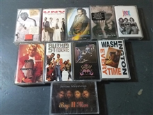 R&B / New Jack Swing - Lot of 10 Cassette Tapes