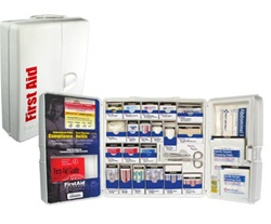Business Smart Compliance First Aid Kit - Business First Aid Kits. First Aid Only Smart Compliance. A great first aid kit option for schools, businesses, childcare facilities, churches, restaurants and much more. 1000-FAE-0103