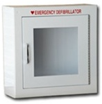 AED Cabinets - AED wall mounted cabinet without alarm, 180SM from Modern Metal