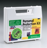 Bloodborne Pathogen Kit with CPR Barrier, First Aid Only, 213-F