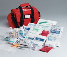 Large First Responder First Aid Kit By First Aid Only- Our comprehensive responder kit contains the essential first aid supplies you need in a medical emergency. First Responder Kit 520-FR