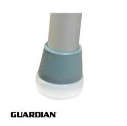 Walker Glide TIps - Guardian Walker Glide Caps - When used with front wheels, Guardian® Walker Glide Caps allow walkers to easily and quietly glide across most surfaces. 7904