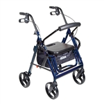 Drive Medical Duet Wheelchair & Rollator Walker in one 795BK